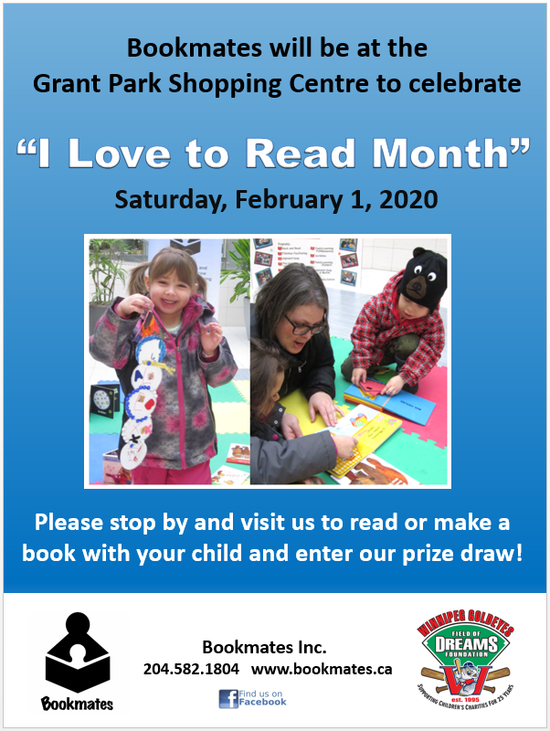 """I Love to Read"" Month @ Grant Park Shopping Centre"